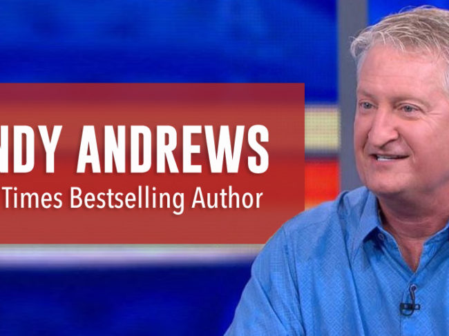 Andy Andrews, Novelist, Makin' It Now